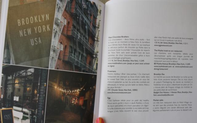 Sunshine book : Adresses New Yorkaises