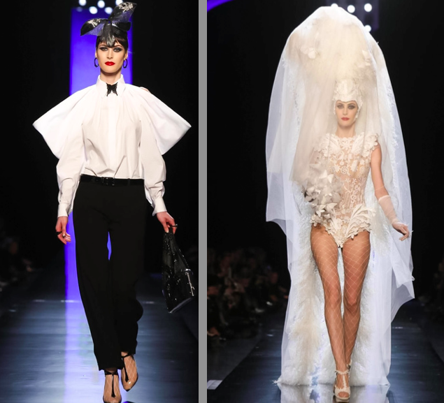 Maud Le Fort - Jean Paul Gaultier Haute Couture SS 14