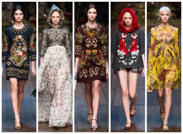 Dolce Gabbana - Prêt à Porter - Automne Hiver 2014/2015 Milan