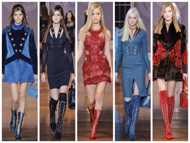 Versace - Automne Hiver 2014/2015 - Milan